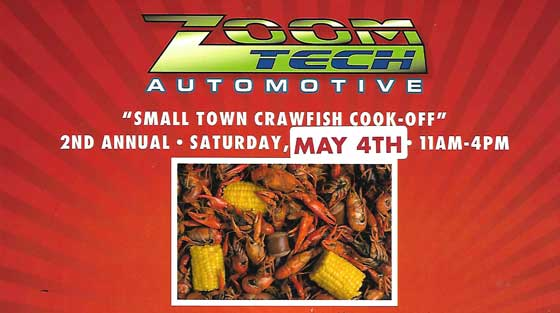 Zoom Tech Automotive crawfish event
